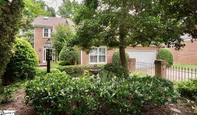 Greenville County Single Family Home For Sale: 206 Hidden Hills