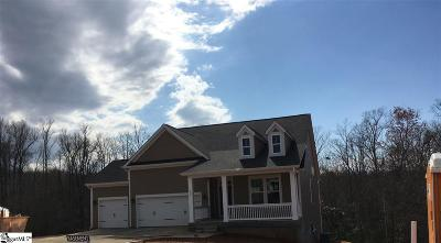 Spartanburg Single Family Home For Sale: 329 Serendipity #Lot 7