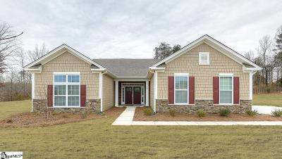 Simpsonville SC Single Family Home For Sale: $255,528