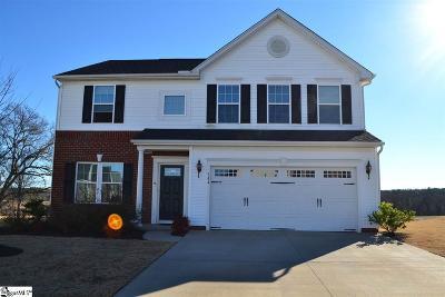 Boiling Springs Single Family Home For Sale: 544 Shoreline