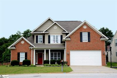 Greenville County Single Family Home For Sale: 103 Summitbluff