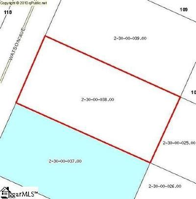 Inman Residential Lots & Land For Sale: 121 Watson