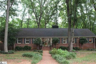 Greenville County Single Family Home For Sale: 126 Lakecrest