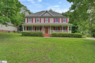 Greenville County Single Family Home For Sale: 1202 Half Mile