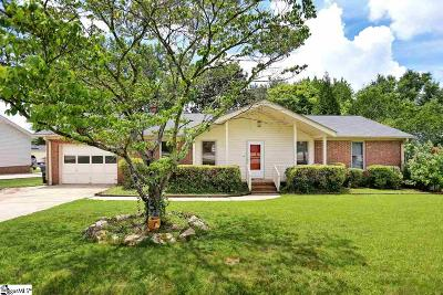 Greenville County Single Family Home Contingency Contract: 906 Devenger