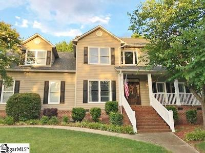 Greenville County Single Family Home Contingency Contract: 6 Beckenham