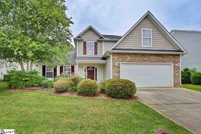 Simpsonville Single Family Home For Sale: 3 Cassidy