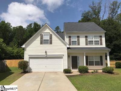 Greenville County Single Family Home For Sale