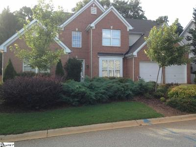 Greenville County Single Family Home Contingency Contract: 603 Morning Creek