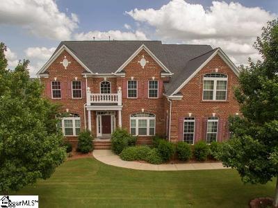 Simpsonville Single Family Home For Sale: 7 Glengrove
