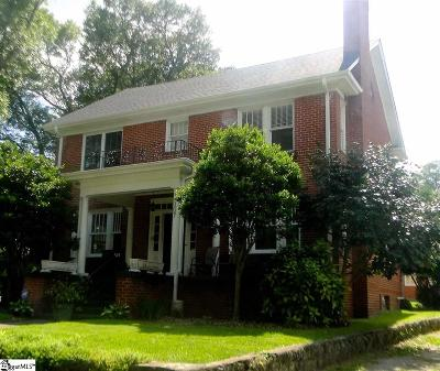 Greenville County Single Family Home Contingency Contract: 307 Wilton
