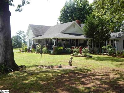 Greer Single Family Home For Sale: 3421 McAbee
