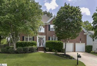Simpsonville Single Family Home For Sale: 511 Grimes