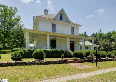 Spartanburg Single Family Home Contingency Contract: 1551 Highway 56