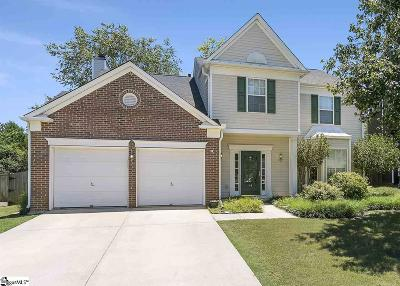 Greenville County Single Family Home Contingency Contract: 14 Ambrose