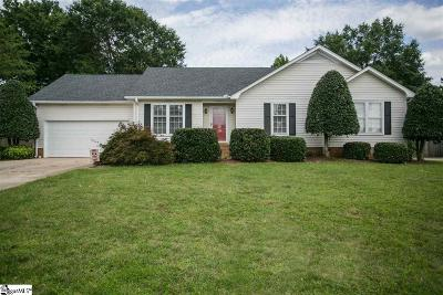Greenville County Single Family Home Contingency Contract: 1040 Devenger