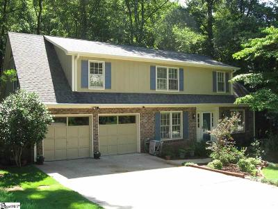 Greenville County Single Family Home Contingency Contract: 105 Cobblestone