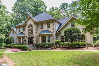 Spartanburg Single Family Home For Sale: 1243 Shadowood