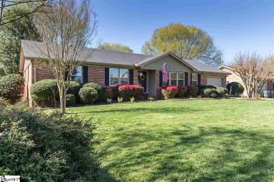 Greenville County Single Family Home For Sale: 103 Leeward