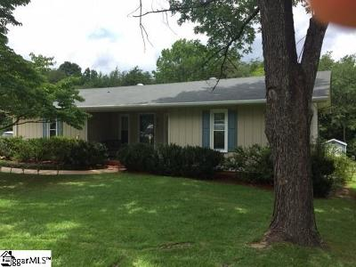 Travelers Rest Single Family Home For Sale: 277 Clearview