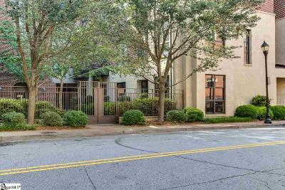 Greenville County Condo/Townhouse For Sale: 224 S Laurens #Unit 110