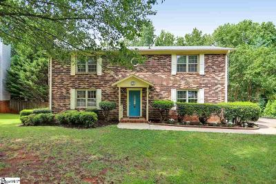 Greenville County Single Family Home For Sale: 21 Cobblestone