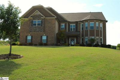 Greenville County Single Family Home For Sale: 54 Alexander Manor