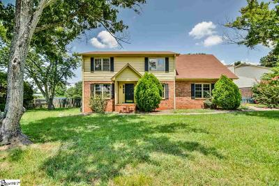 Greenville County Single Family Home For Sale: 1 Cobblestone