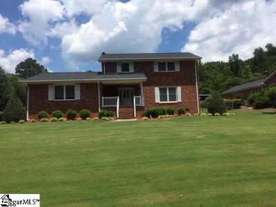 Spartanburg Single Family Home For Sale: 1616 Fernwood Glendale