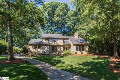 Greenville County Single Family Home For Sale: 28 Club Forest