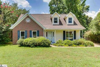 Simpsonville Single Family Home For Sale: 206 S Chancelor