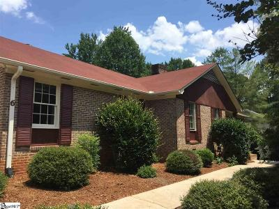 Greenville SC Single Family Home For Sale: $267,000