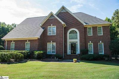 Spartanburg Single Family Home For Sale: 181 Woodridge