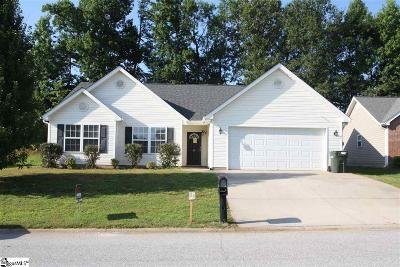 Greenville County Single Family Home Contingency Contract: 12 Granite Woods