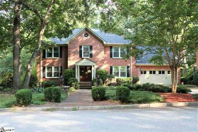Greer Single Family Home Contingency Contract: 503 Sugar Mill