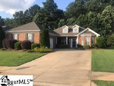 Simpsonville Single Family Home For Sale: 12 Macintyre