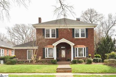 Spartanburg Single Family Home For Sale: 619 Poplar
