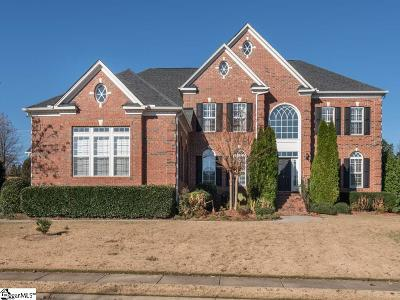 Simpsonville Single Family Home For Sale: 4 Glengrove
