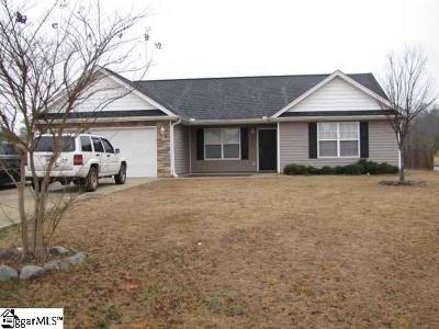 Spartanburg Single Family Home For Sale: 100 Oxboro