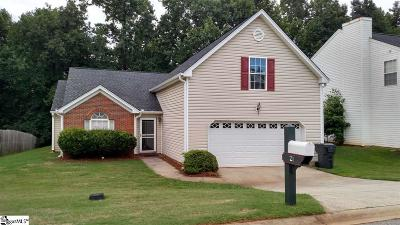 Greenville County Single Family Home For Sale: 21 Valley Glen