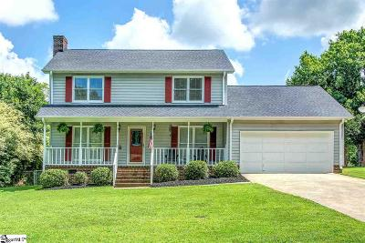 Simpsonville Single Family Home For Sale: 216 Foxhound