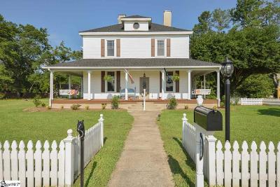Simpsonville Single Family Home For Sale: 402 S Main