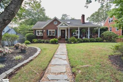 Greenville County Single Family Home For Sale: 1103 N Main