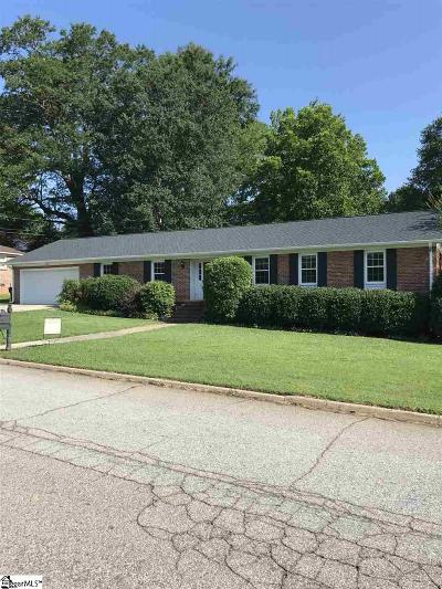 Greenville County Single Family Home For Sale: 4 Gavins