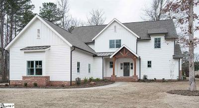 Simpsonville Single Family Home For Sale: 22 Meadow Reserve #Lot 24