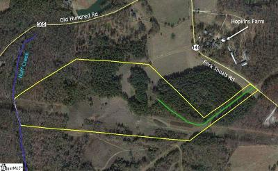 Simpsonville Residential Lots & Land Contingency Contract: 3650 Fork Shoals