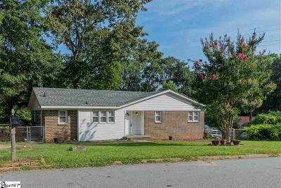 Simpsonville Single Family Home For Sale: 104 Sellwood