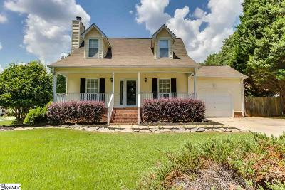 Simpsonville Single Family Home For Sale: 801 Dunwoody