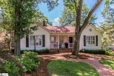 Greenville County Single Family Home Contingency Contract: 150 Mount Vista