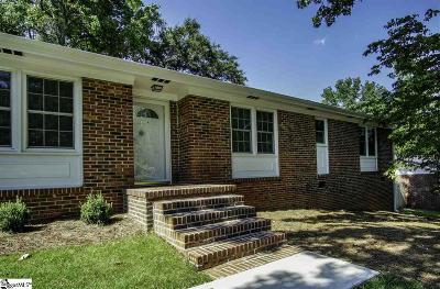 Greenville County Single Family Home For Sale: 107 Bransfield